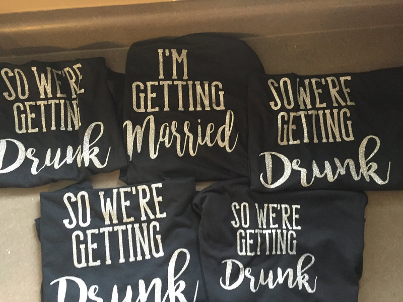 Bachelorette Tanks- Getting Married