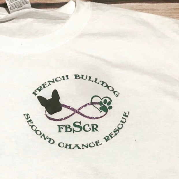 French Bulldog Second Chance Rescue, Infinity logo