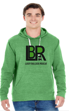 Lucky Bulldogs Logo Hoodie and T's