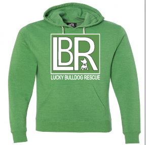 Lucky Bulldogs Logo Hoodies