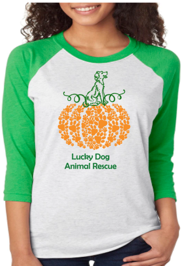 Paw Pumpkin- Lucky Dog