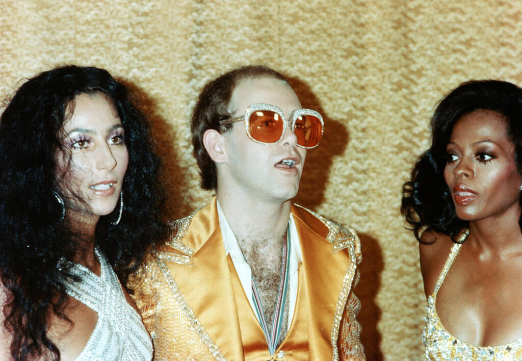Cher, Elton John, and Diana Ross.