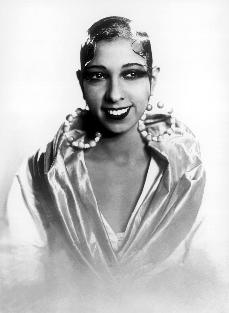 American-born jazz dancer Josephine Baker