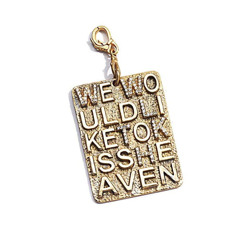 Coomi Sagrada Familia We Would Like to Kiss Heaven Pendant npmrwB2B
