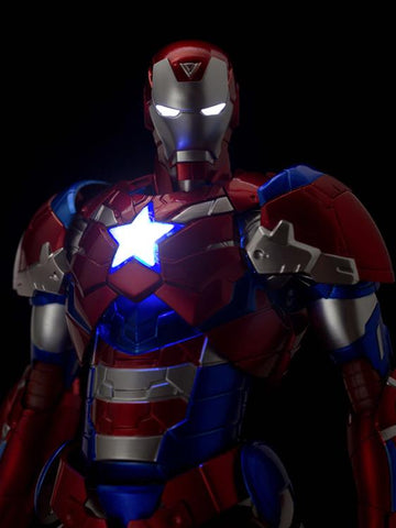 sentinel iron  man patriot figure