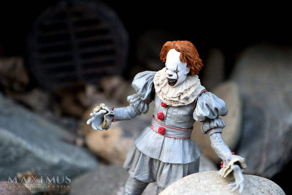 Maximus Collectors Pennywise IT ACBA Action Figure Photography NECA