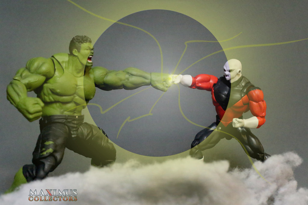 Maximus Collectors Hulk vs Jiren Figuarts Marvel Legends ACBA Photography