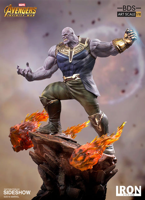 Maximus Collectors Thanos Iron Studios