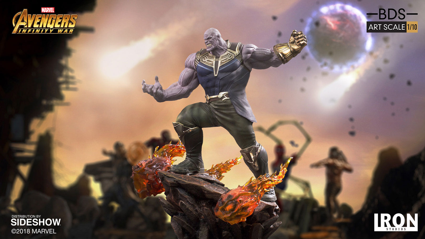 Maximus Collectors Thanos Infinity War Iron Studios
