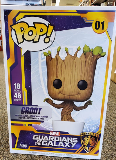 Funko Pop 18 inch dancing groot marvel guardians of the galaxy