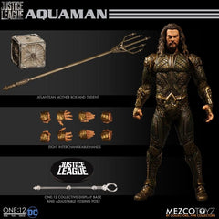 Mezco One:12 Collective DC Justice League Aquaman Action Figure In Stock - Maximus Collectors Toys & Gifts