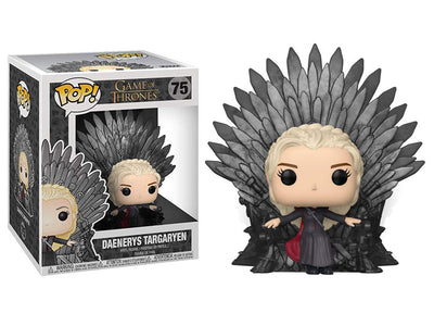 Pop! Deluxe: Game of Thrones - Daenerys Targaryen on Iron Throne Maximus Collectors