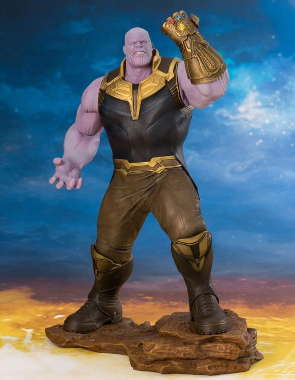 Avengers: Infinity War ArtFX+ Thanos Statue BY KOTOBUKIYA maximus collectors toys and gifts
