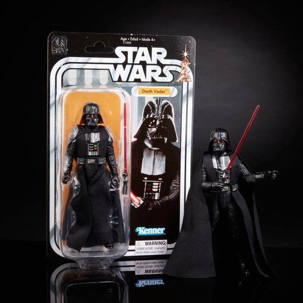 "Star Wars 40th Anniversary The Black Series 6"" Darth Vader Legacy Pack-Maximus Collectors"