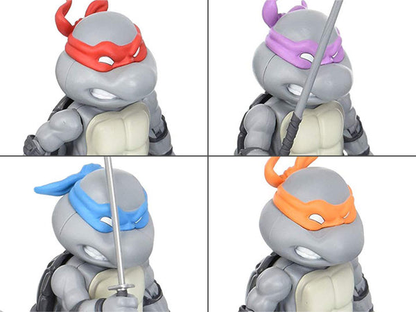 TMNT Hybrid Metal Figuration Mini-Figure Set of 4 SDCC 2016 Exclusive-Maximus Collectors