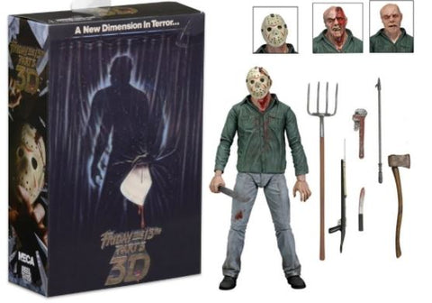 NECA Friday the 13th Ultimate Part 3 Jason  7″ Scale Action Figure