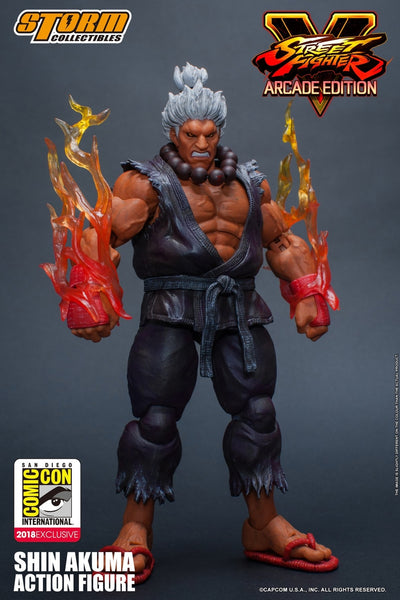 Storm Collectibles Shin Akuma  SDCC 2018 Exclusive 1/12 Action Figure