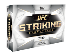 2020 UFC Striking Signatures Hobby Box - TOPPS