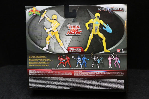 "Yellow Ranger Mighty Morphin Power Rangers Then and Now Movie 5""  Figures 2017"