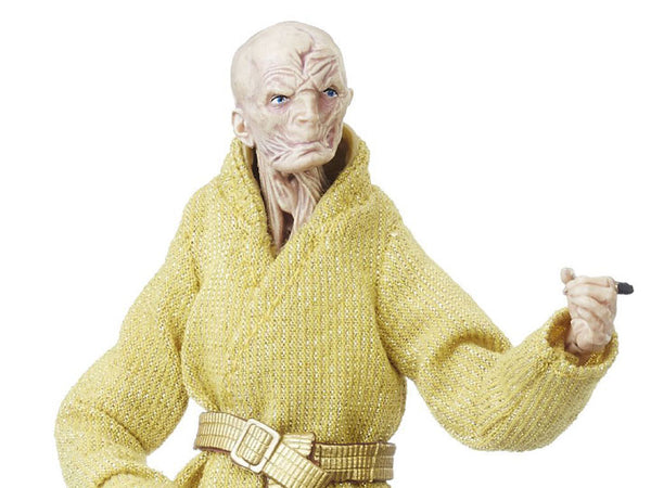 "Star Wars: The Black Series 6"" Supreme Leader Snoke (The Last Jedi)-Maximus Collectors"