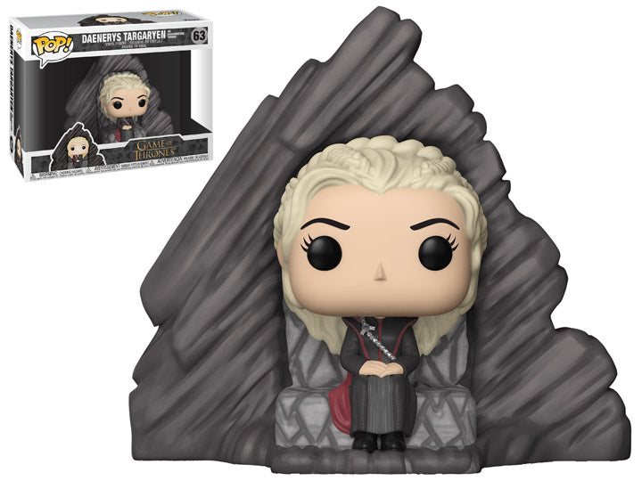 Funko Pop! Game of Thrones Daenerys on Dragonstone Throne - Maximus Collectors Toys & Gifts