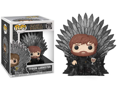 Pop! Deluxe: Game of Thrones - TyrionLannister on Iron Throne- Maximus Collectors
