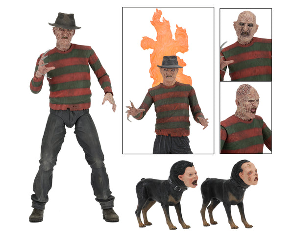 "NECA - Nightmare on Elm Street 7"" Ultimate Freddy Part 2 Action Figure - Maximus Collectors Toys & Gifts"