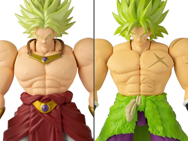 "Bandai America Dragon Ball Super Limit Breaker 13"" Wave 1 Set of 2 Figures: Broly - maximus collector toys and gifts"