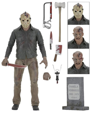 NECA - Ultimate Jason Action Figure Part 4 The FInal Chapter