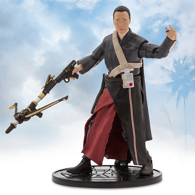 Star Wars Chirrut Imwe Elite Series Die Cast Action Figure - 6.5 Inches - Rogue One: A Star Wars Story - Maximus Collectors Toys & Gifts