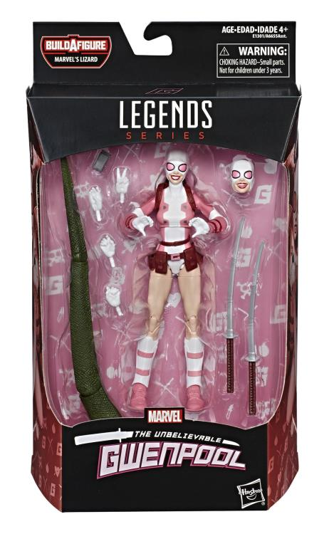 Spider-Man Marvel Legends Gwenpool (Marvel's Lizard BAF) - Maximus Collectors Toys & Gifts