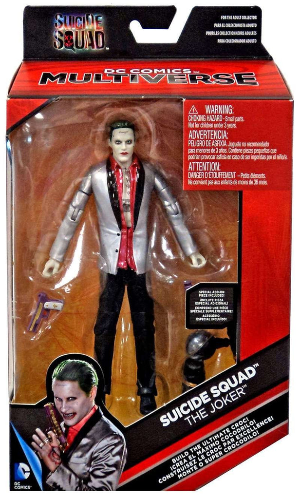DC Comics Multiverse Suicide Squad The Joker Action Figure 6 Inches - Maximus Collectors Toys & Gifts