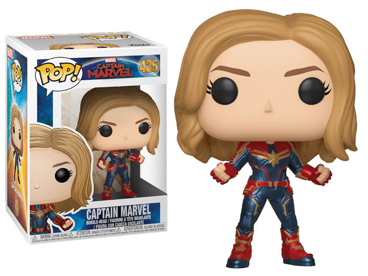 Funko Pop! Marvel: Captain Marvel - Captain Marvel-Maximus Collectors