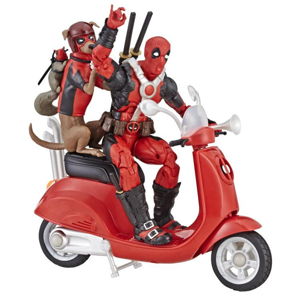 Ultimate Marvel Legends Deadpool on Scooter with Squirrelpool & Dogpool-Maximus Collectors