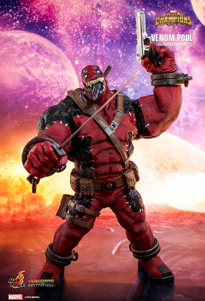 Marvel: Contest of Champions VGM35 Venompool 1/6th Scale Collectible Figure BY HOT TOYS-Maximus Collectors