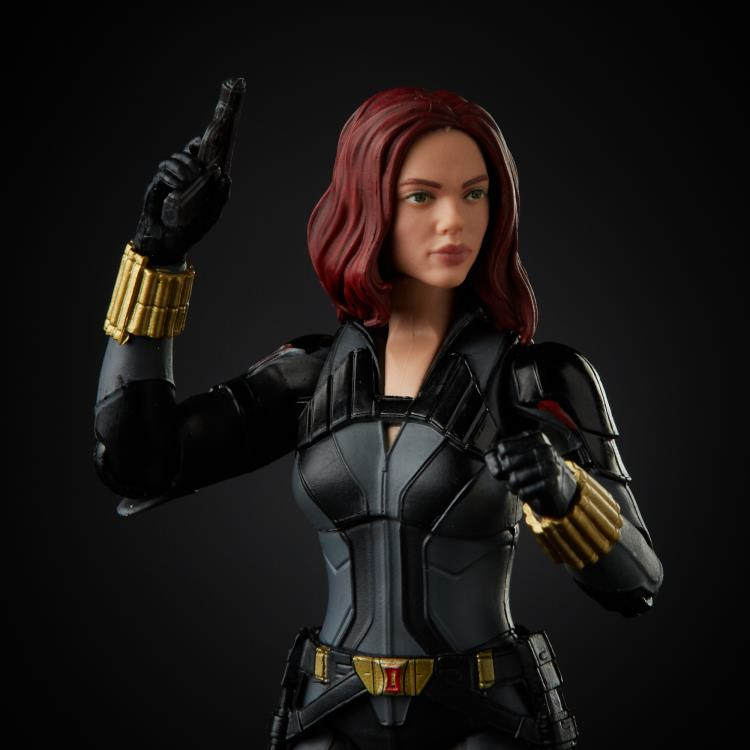 Black Widow Marvel Legends Black Widow (Crimson Dynamo BAF)
