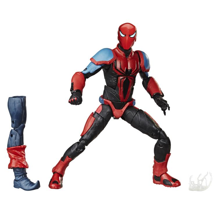 Spider-Man (2018 Video Game) Marvel Legends Spider-Armor MK III (Demogoblin BAF)-Maximus Collectors