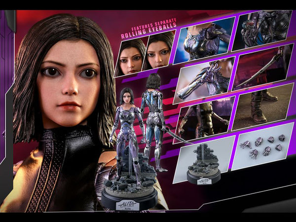 Alita: Battle Angel MMS520 Alita 1/6th Scale Collectible Figure maximus collectors toys and gifts