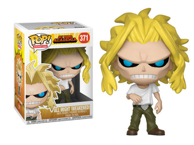 Pop! Animation: My Hero Academia All Might (Weakened) - Maximus Collectors Toys & Gifts