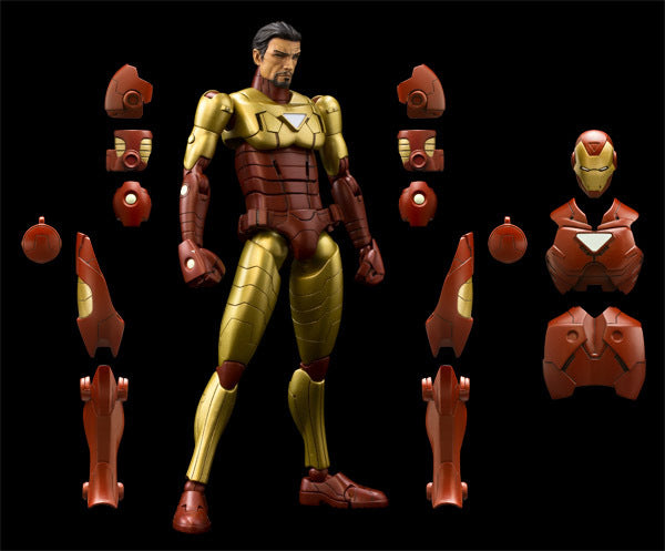 Sentinel - Armorize Iron Man Tony Stark Marvel Action Figure 1/12 scale - Maximus Collectors Toys & Gifts