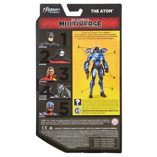 DC's Legends of Tomorrow DC Comics Multiverse Atom (Collect & Connect Bat Mech Suit) maximus collectors toys and gifts