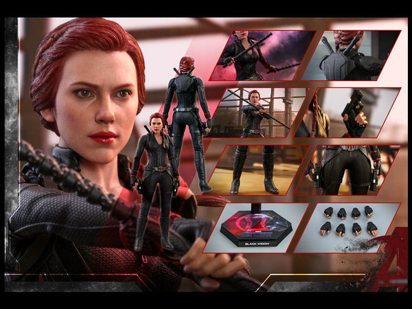 Avengers: Endgame MMS533 Black Widow 1/6th Scale Collectible Figure maximus collectors toys and gifts
