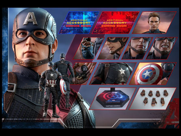 Avengers: Endgame MMS536 Captain America 1/6th Scale Collectible Figure maximus collectors toys and gifts