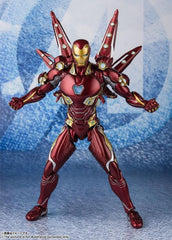 Avengers: Endgame S.H.Figuarts Iron Man Mark L With Nano Weapon Set #2 maximus  collectors toys and gifts