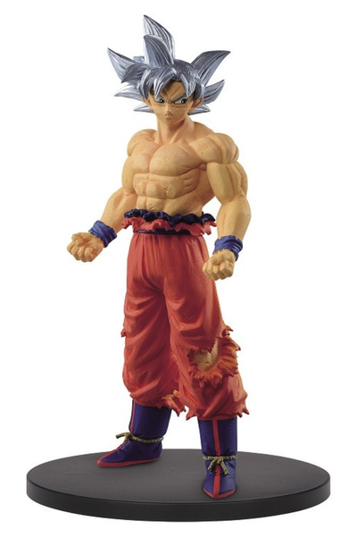 Banpresto Dragon Ball Super Creator X Creator Son Goku Ultra Instinct Figure Statue