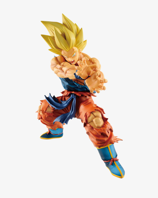 Dragonball Z Super Saiyan Goku Kamehameha Statue Figure- maximus collectors toys and gifts