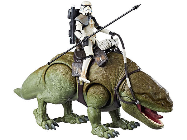 Star Wars Black Series Sandtrooper 6 inch Figure on Dewback Vehicle Series - Maximus Collectors Toys & Gifts