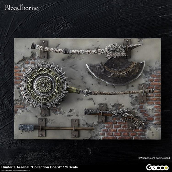 Bloodborne Hunter's Arsenal Collection Board 1/6 Scale Accessory - maximus collectors toys and gifts