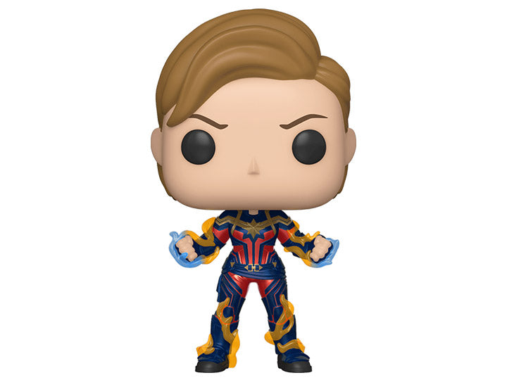 Pop! Marvel: Avengers: Endgame - Captain Marvel (New Hair)-Maimxus Collectors
