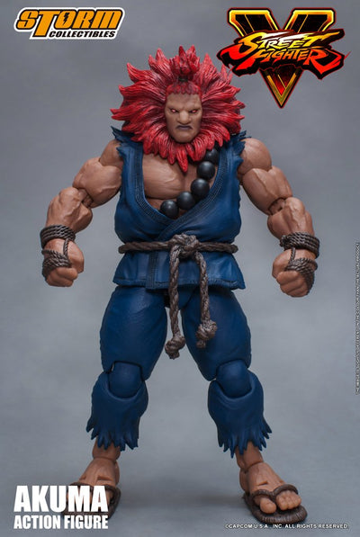 Street Fighter V Akuma 1/12 Scale Figure - Maximus Collectors Toys & Gifts